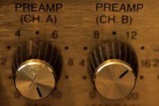 Free Amplifier Knobs Stock Photos - 2120863