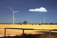 Free Windmills Royalty Free Stock Images - 2121839