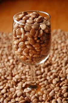 Free Beans In Glass Stock Image - 2122501