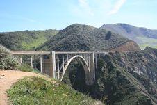 Free Bridge In California Royalty Free Stock Photos - 2124418