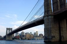 Free Brooklyn Bridge Royalty Free Stock Images - 2124649