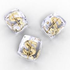 Free Frozen Moneys Isolated Stock Photos - 2124713