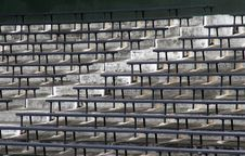 Free Stadium Bench Stock Photography - 2125272