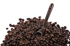 Free Scoop Of Coffee Bean Stock Photography - 2126812