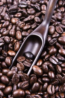 Free Scoop Of Coffee Bean Royalty Free Stock Photo - 2126815