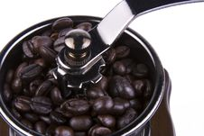 Free Coffee Grinder Close Up Royalty Free Stock Photography - 2126817