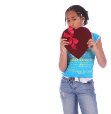 Free African American Girl Holding Stock Photos - 2127113