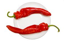 Free Red Peppers Stock Photography - 2127422