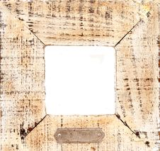 Free Old Wooden Frame With White Ce Royalty Free Stock Photography - 2127627