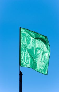 Free Green Flag Royalty Free Stock Images - 2128199