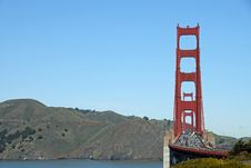 Free Marin Headlands View Royalty Free Stock Photography - 2128447