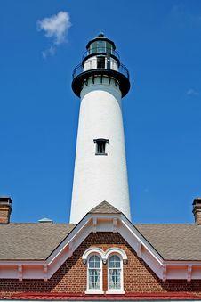 Free St. Simon Lighthouse Royalty Free Stock Photos - 2129238