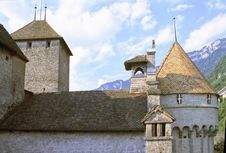 Free Chillon Castle Royalty Free Stock Image - 2129386