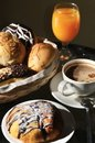Free Breakfast Arrangement In A Warm Morning Light. Royalty Free Stock Photography - 21201087