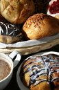 Free Bread For Breakfast Royalty Free Stock Image - 21201336