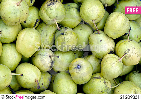 Free Pears Stock Image - 21209851