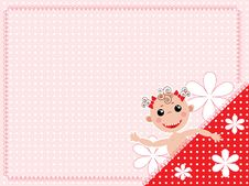 Free Baby Background Royalty Free Stock Photography - 21200397