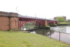 Free Weir And Pipe Bridge - 1901 Royalty Free Stock Photo - 21200485