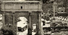 Free Roman Forum In Rome, Italy Royalty Free Stock Image - 21200586