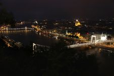 Free Budapest, Hungary, From Fortress Citadel Stock Photography - 21200902