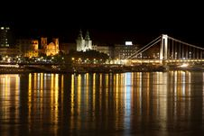 Free Night View Of Panorama Budapest, Hungary Royalty Free Stock Images - 21200949