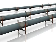Free The Pipelines Stock Photography - 21201132