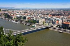 Free Elizabeth Bridge, Budapest, Hungary Royalty Free Stock Photos - 21201158