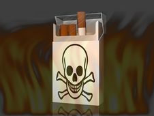 Free The Cigarette Stock Photo - 21201340
