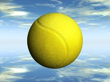 Free The Tennis Ball Stock Images - 21201394