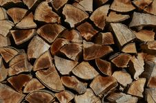 Free Stack Firewood Stock Photography - 21201912