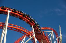Free Roller Coaster Stock Photography - 21202052