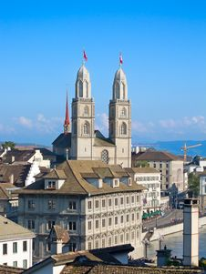 Free Zurich In Summer Royalty Free Stock Photography - 21202387