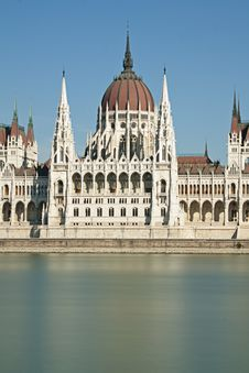 Free Hungarian Parliament Building Budapest Royalty Free Stock Photography - 21202787