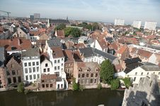 Free Ghent, Belgium Royalty Free Stock Photos - 21203098