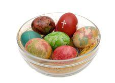 Free Easter Varicoloured Eggs Stock Photo - 21203100