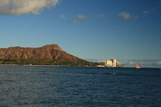 Free Diamond Head, Waikiki Stock Photos - 21203473