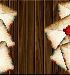 Free Old Envelopes Stock Photo - 21203590