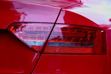 Free Sports Car Tail Light. Royalty Free Stock Photo - 21203695