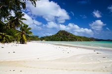Free View Of Beach Anse Volbert Stock Images - 21204024