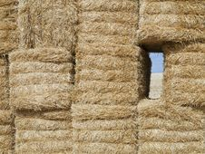 Bales Of Straw Stock Photos