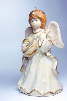 Free Figurine Of An Angel Royalty Free Stock Photo - 21204505