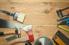 Free Different Tools Stock Photography - 21204822