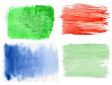 Free Set Of Watercolor Backgrounds Stock Image - 21204881