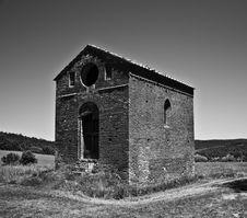 Free San Galgano Abbey, Tuscany Stock Images - 21205364