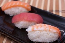 Free Sushi Set Stock Photography - 21205382