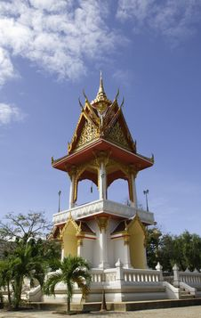 Free Buddhist Bell Tower Royalty Free Stock Photos - 21205418