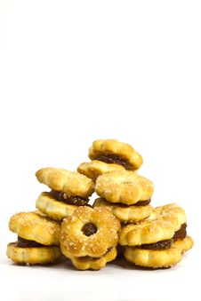 Free Biscuits Royalty Free Stock Photos - 21205428