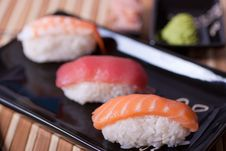 Free Sushi Set Stock Photo - 21205450