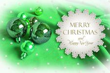 Free Christmas Invitation Stock Photography - 21206322