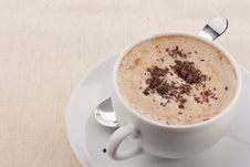 Free Cappuccino Royalty Free Stock Image - 21207286